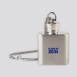 CLASS OF 2031-Fre blue 300 Flask Necklace