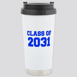 CLASS OF 2031-Fre blue 300 Travel Mug