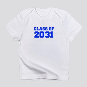 CLASS OF 2031-Fre blue 300 Infant T-Shirt