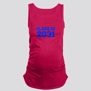 CLASS OF 2031-Fre blue 300 Maternity Tank Top