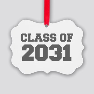 CLASS OF 2031-Fre gray 300 Ornament