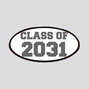 CLASS OF 2031-Fre gray 300 Patch