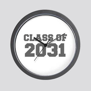 CLASS OF 2031-Fre gray 300 Wall Clock