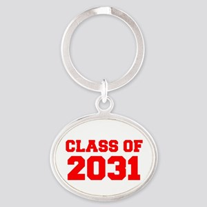 CLASS OF 2031-Fre red 300 Keychains