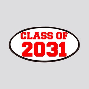 CLASS OF 2031-Fre red 300 Patch