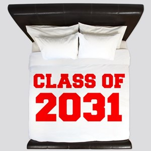 CLASS OF 2031-Fre red 300 King Duvet