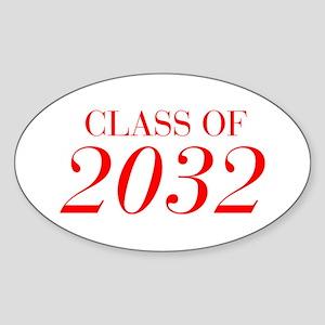 CLASS OF 2032-Bau red 501 Sticker
