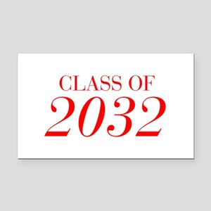 CLASS OF 2032-Bau red 501 Rectangle Car Magnet