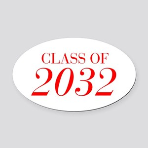CLASS OF 2032-Bau red 501 Oval Car Magnet