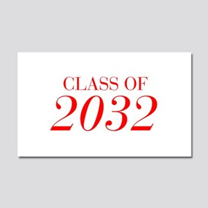 CLASS OF 2032-Bau red 501 Car Magnet 20 x 12
