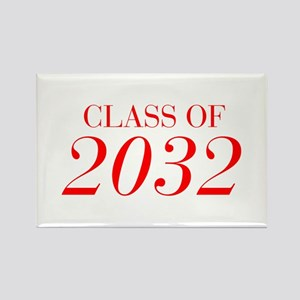 CLASS OF 2032-Bau red 501 Magnets
