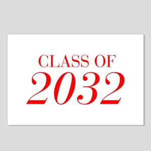 CLASS OF 2032-Bau red 501 Postcards (Package of 8)