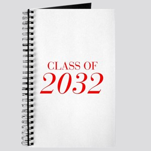 CLASS OF 2032-Bau red 501 Journal
