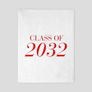 CLASS OF 2032-Bau red 501 Twin Duvet