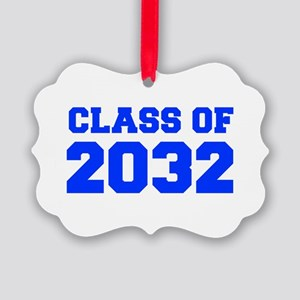 CLASS OF 2032-Fre blue 300 Ornament