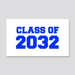 CLASS OF 2032-Fre blue 300 Rectangle Car Magnet
