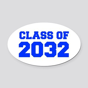 CLASS OF 2032-Fre blue 300 Oval Car Magnet