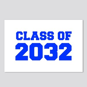 CLASS OF 2032-Fre blue 300 Postcards (Package of 8