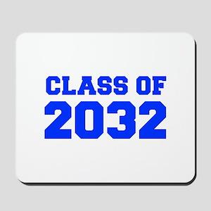 CLASS OF 2032-Fre blue 300 Mousepad