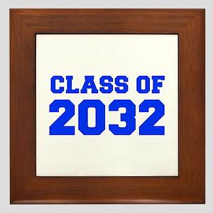 CLASS OF 2032-Fre blue 300 Framed Tile