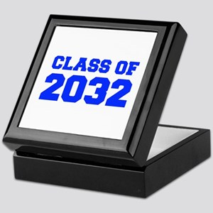 CLASS OF 2032-Fre blue 300 Keepsake Box