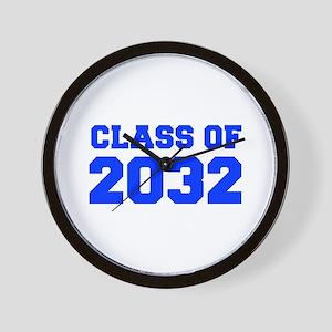 CLASS OF 2032-Fre blue 300 Wall Clock