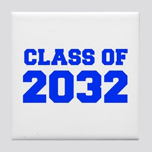 CLASS OF 2032-Fre blue 300 Tile Coaster
