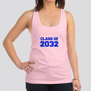 CLASS OF 2032-Fre blue 300 Racerback Tank Top