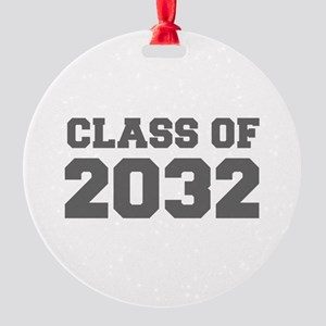 CLASS OF 2032-Fre gray 300 Ornament