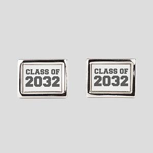 CLASS OF 2032-Fre gray 300 Rectangular Cufflinks