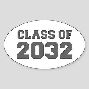 CLASS OF 2032-Fre gray 300 Sticker