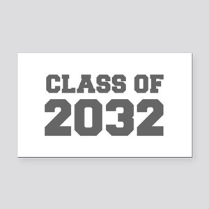 CLASS OF 2032-Fre gray 300 Rectangle Car Magnet