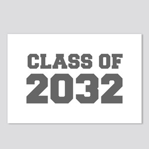 CLASS OF 2032-Fre gray 300 Postcards (Package of 8