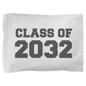 CLASS OF 2032-Fre gray 300 Pillow Sham