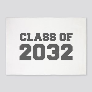 CLASS OF 2032-Fre gray 300 5'x7'Area Rug