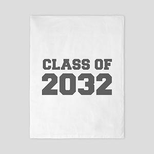 CLASS OF 2032-Fre gray 300 Twin Duvet