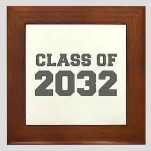 CLASS OF 2032-Fre gray 300 Framed Tile