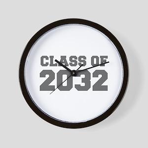 CLASS OF 2032-Fre gray 300 Wall Clock