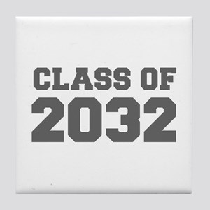 CLASS OF 2032-Fre gray 300 Tile Coaster
