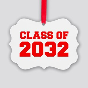 CLASS OF 2032-Fre red 300 Ornament