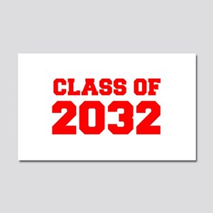 CLASS OF 2032-Fre red 300 Car Magnet 20 x 12