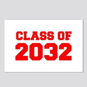 CLASS OF 2032-Fre red 300 Postcards (Package of 8)