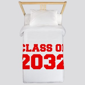 CLASS OF 2032-Fre red 300 Twin Duvet