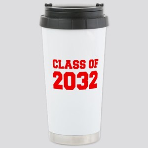 CLASS OF 2032-Fre red 300 Travel Mug