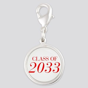 CLASS OF 2033-Bau red 501 Charms