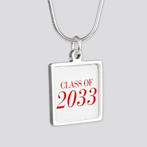 CLASS OF 2033-Bau red 501 Necklaces