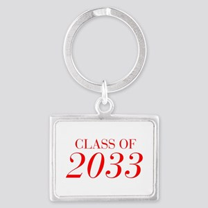CLASS OF 2033-Bau red 501 Keychains