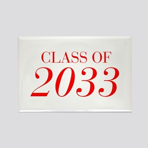 CLASS OF 2033-Bau red 501 Magnets