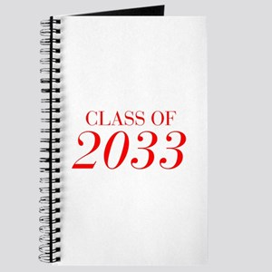 CLASS OF 2033-Bau red 501 Journal
