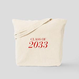 CLASS OF 2033-Bau red 501 Tote Bag